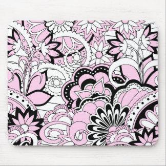 Tapis De Souris colorful pink boho pattern