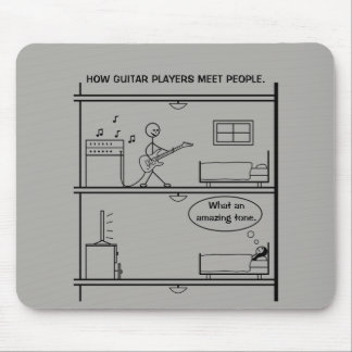 Tapis De Souris Comment les joueurs de guitare rencontrent des