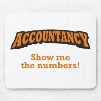 Tapis De Souris Comptabilité - montrez-moi les nombres !