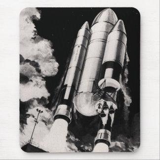 Tapis De Souris Concept d'artiste de lanceur de navette spatiale