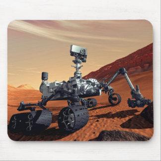 Tapis De Souris Concept d'artiste de Rover de curiosité de la NASA