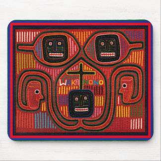 Tapis De Souris Conception tribale de Cuna