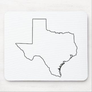 Tapis De Souris Contour MousePad du Texas