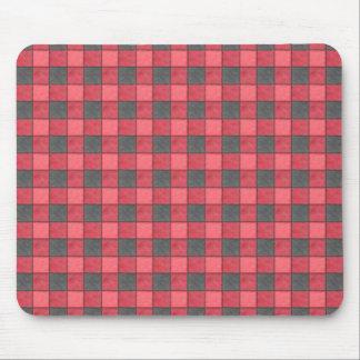 Tapis De Souris Contrôle Mousepad de rouge et de noir