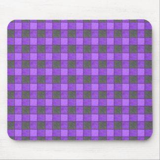 Tapis De Souris Contrôle violet et noir pourpre Mousepad