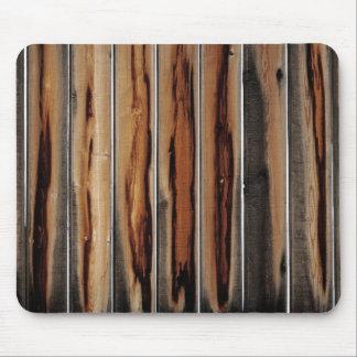 Tapis De Souris Cool en bois de texture de barrière unique