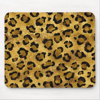 Tapis De Souris Copie animale de peau de guépard