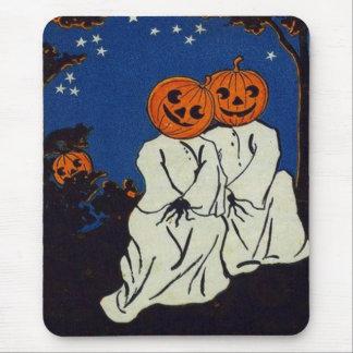 Tapis De Souris Costume de fantôme de citrouille de lanterne de