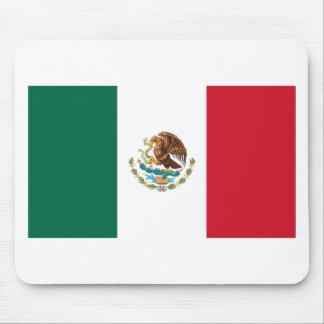 Tapis De Souris Coût bas ! Drapeau du Mexique