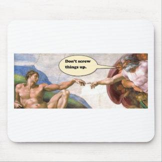 Tapis De Souris Création d'Adam