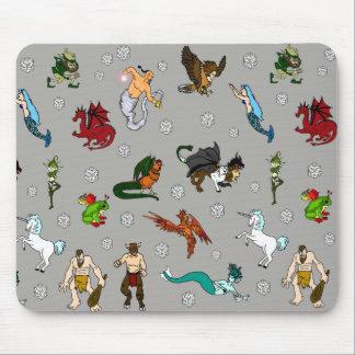 Tapis De Souris Créatures de cachot et de dragons
