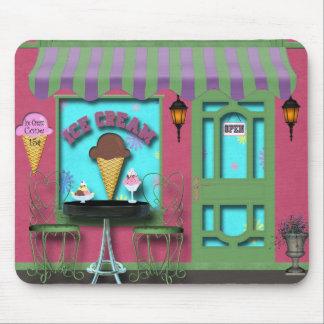 Tapis De Souris Crème glacée Mousepad