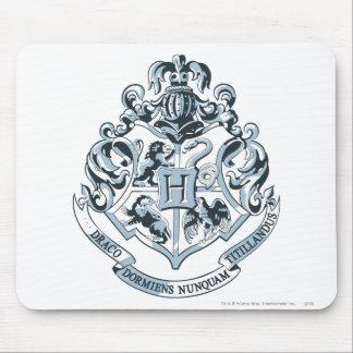 Tapis De Souris Crête de Harry Potter | Hogwarts - bleu