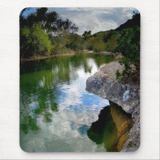 Tapis De Souris Crique 8 de Barton - Austin le Texas