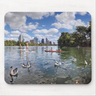 Tapis De Souris Crique de Barton à Madame Bird Lake - Austin, le