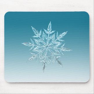 Tapis De Souris Cristal de flocon de neige