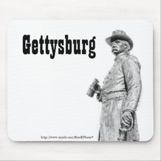 Tapis De Souris Croquis Mousepad de la statue III de Gettysburg