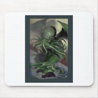 Tapis De Souris Cthulhu puissance en chevaux en hausse Lovecraft a