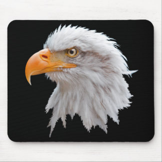 Tapis de souris d'Alaska d'Eagle chauve
