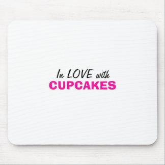 Tapis De Souris Dans l'amour avec des petits gâteaux