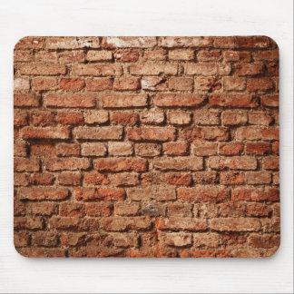 Tapis de souris d'arrière - plan de mur de briques