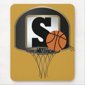 Tapis de souris de basket-ball