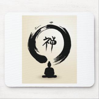 Tapis de souris de Bouddha de zen