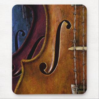 Tapis de souris de composition en violon
