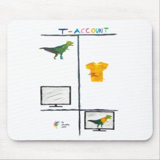 Tapis de souris de comptabilité - T-Compte de
