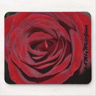 Tapis de souris de HAMbyWG - rose rouge