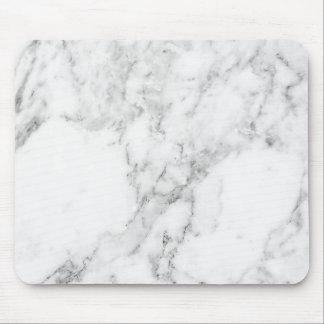 Tapis de souris de marbre blanc et gris