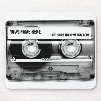 Tapis de souris de Mixtape d'enregistreur à