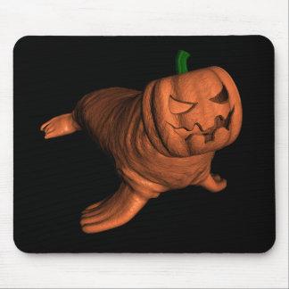 Tapis De Souris De morse étrange de Halloween