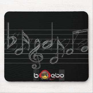Tapis de souris de musique de Bebo