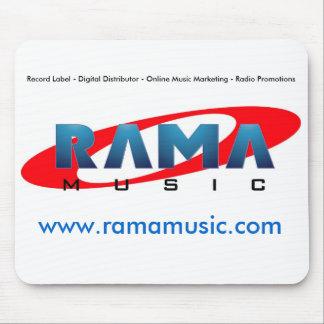 Tapis de souris de musique de Rama