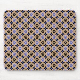 Tapis de souris de Patte-pour-Style (cobalt)