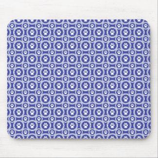 Tapis de souris de Patte-pour-Style (indigo)