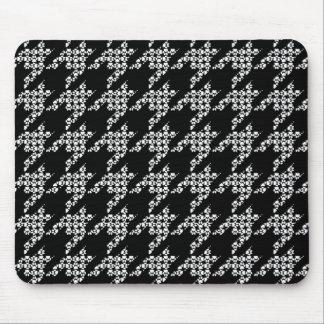 Tapis de souris de Patte-pour-Style (noir)