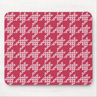 Tapis de souris de Patte-pour-Style (rouge)