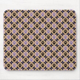 Tapis de souris de Patte-pour-Style (violet)