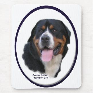 Tapis De Souris De plus grands cadeaux suisses de chien de