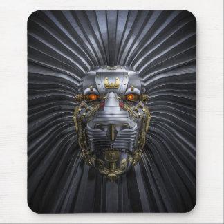 Tapis de souris de robot de lion