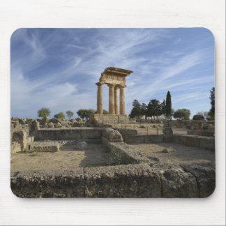 Tapis de souris de temple d'Agrigente