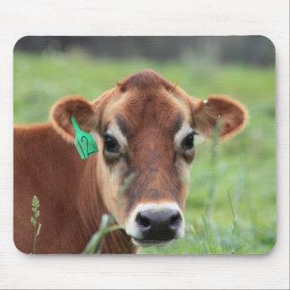 Tapis de souris de vache du Jersey