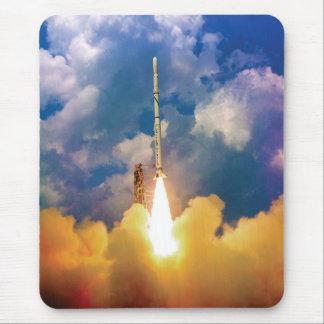 Tapis De Souris Décollage de lancement de Rocket de scout de la
