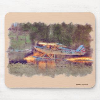 Tapis De Souris Décollage plat de flotteur de parc national du lac