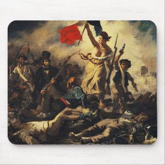 Tapis De Souris Delacroix,Liberty Leading the People (1830)