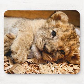 Tapis De Souris Détente de petit animal de lion