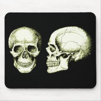 Tapis De Souris Deux crânes humains