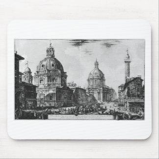 Tapis De Souris Di Roma de Vedute par Giovanni Battista Piranesi